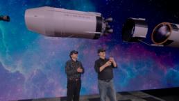 Démonstration du lancement de la fusée Apollo 11 en réalité augmentée avec le casque HoloLens et l'utilisation d'Azure Remote Rendering