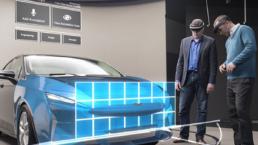 Design Review d'une automobile dans HoloLens grâce à Azure Remote Rendering