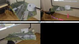 Affichage d'une maquette 3D en multiLive Preview grâce à HL Manager