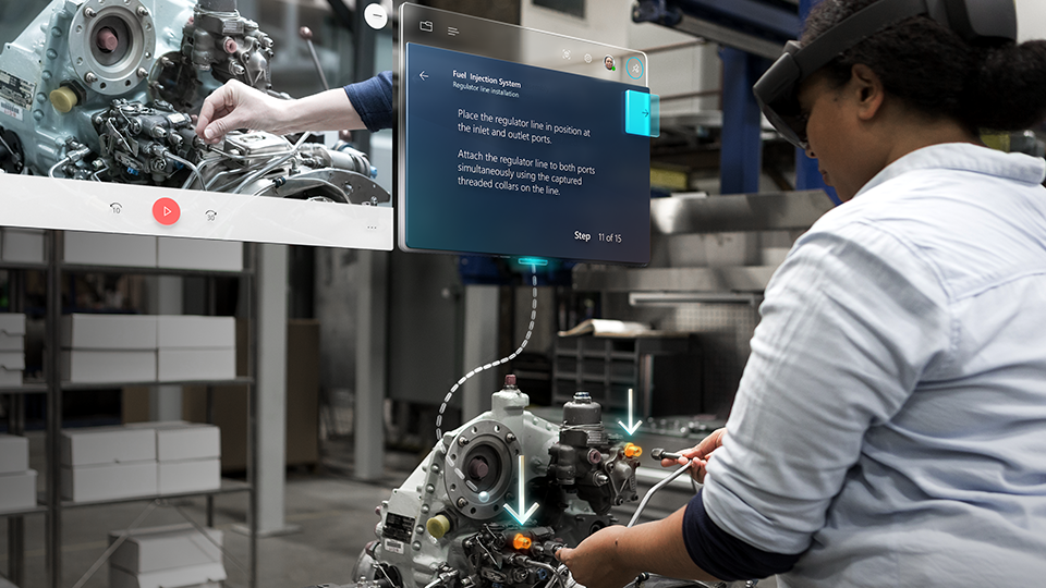 Microsoft Formation Dynamics 365 Guides Hololens 2